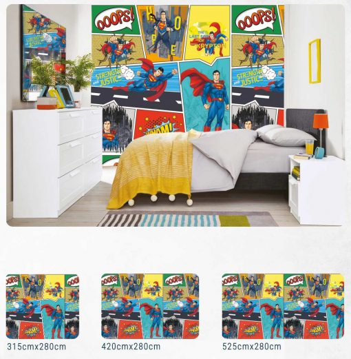 kids feature wall